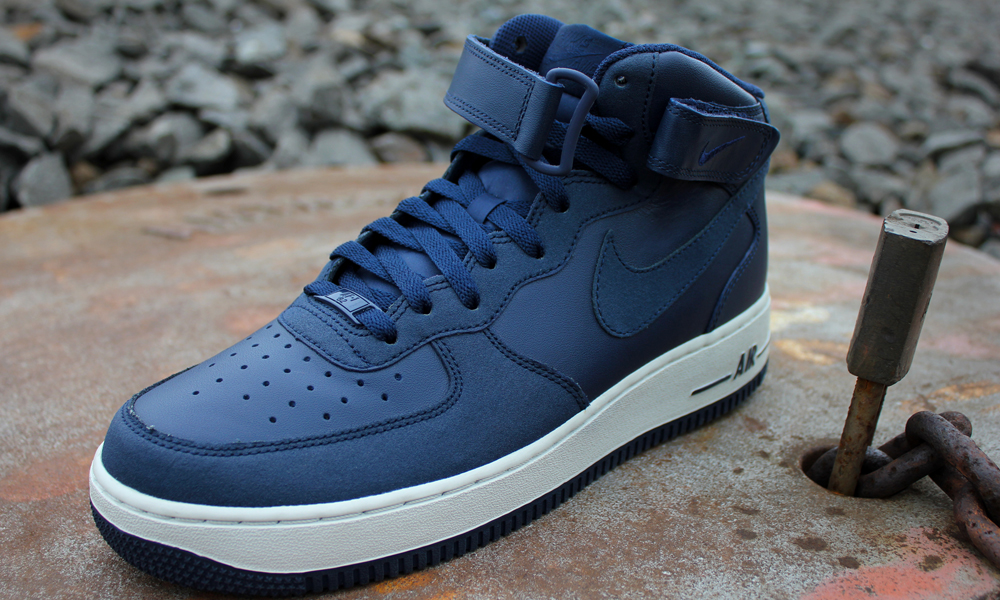 huge selection of c345c e17f0 new style buy dd288 1880b nike air force 1 mid dark blue f4cb8 31500