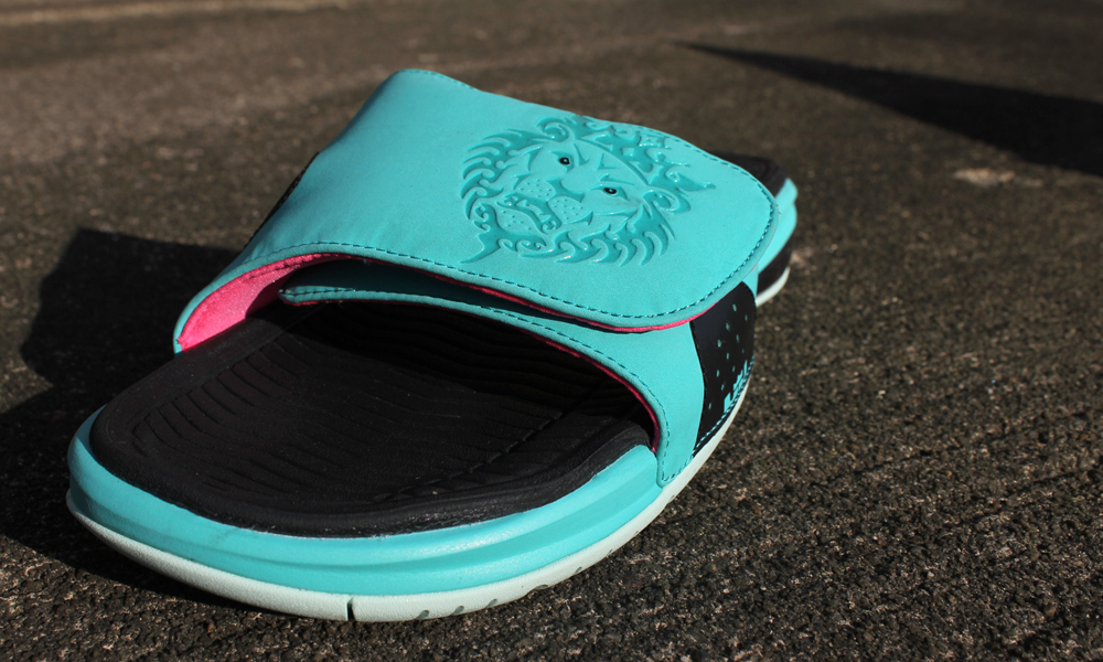 """... refers to every pair of soles that have the ability to radiate a crisp  freshness after every stride you take. The Nike Lebron 9 Flip Flop """"South  Beach"""" ... 388f760c5"""