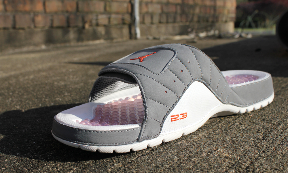 c81fc535124b46 ... Hydro 2 (TD) Baby Girls Toddler Slides BlackPink And theres nothing  more comfortable than sliding on a pair of Air Jordan XII slides and ...