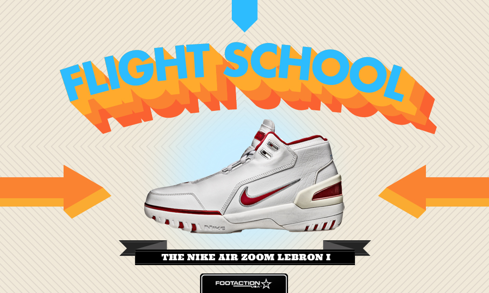 fc1f6e9d5940 Flight School  Nike Air Zoom Generation Lebron I - Footaction Star ...