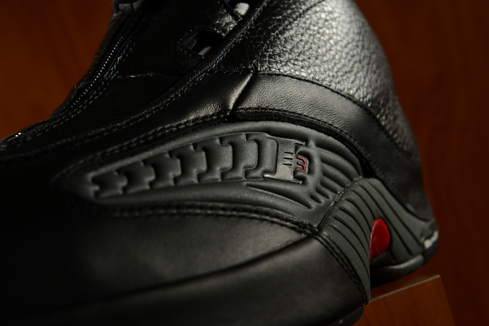 88835b23e2bdca The Reebok Answer IV Black Grey Red has the flair and style of the player  who wore them on the court.