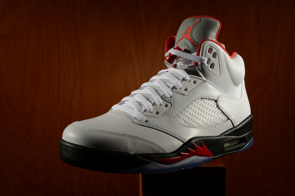 8d2c0fe2134 There are various colorways of the Air Jordan Retro 5, but there's none  like the White/Fire Red-Black colorway. But before we get into any details,  ...