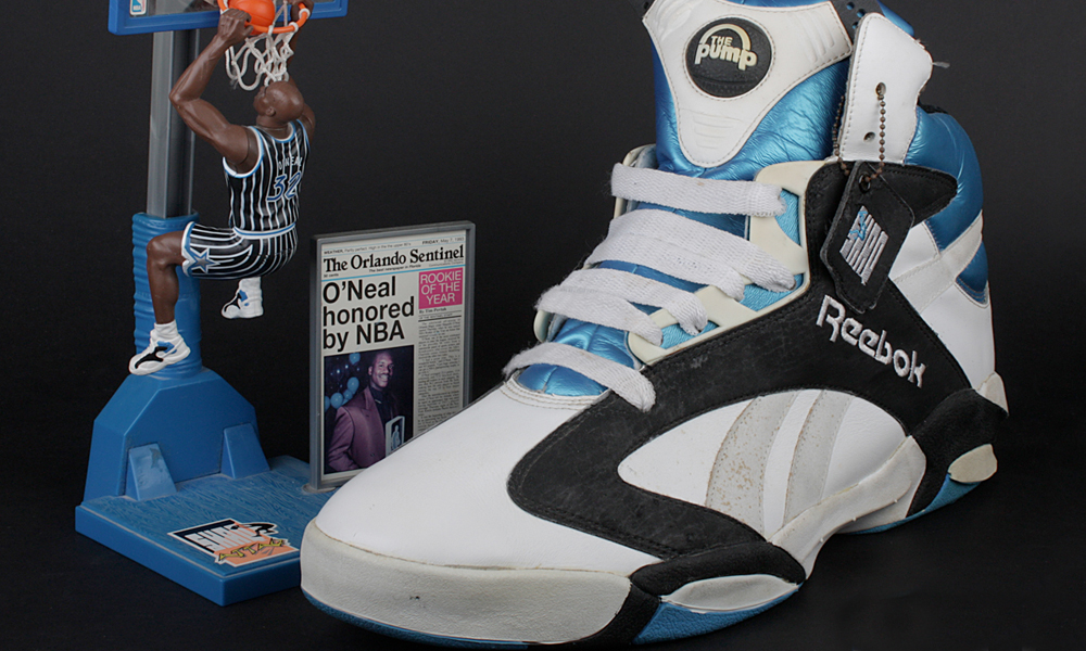 reebok shaq pump sneakers