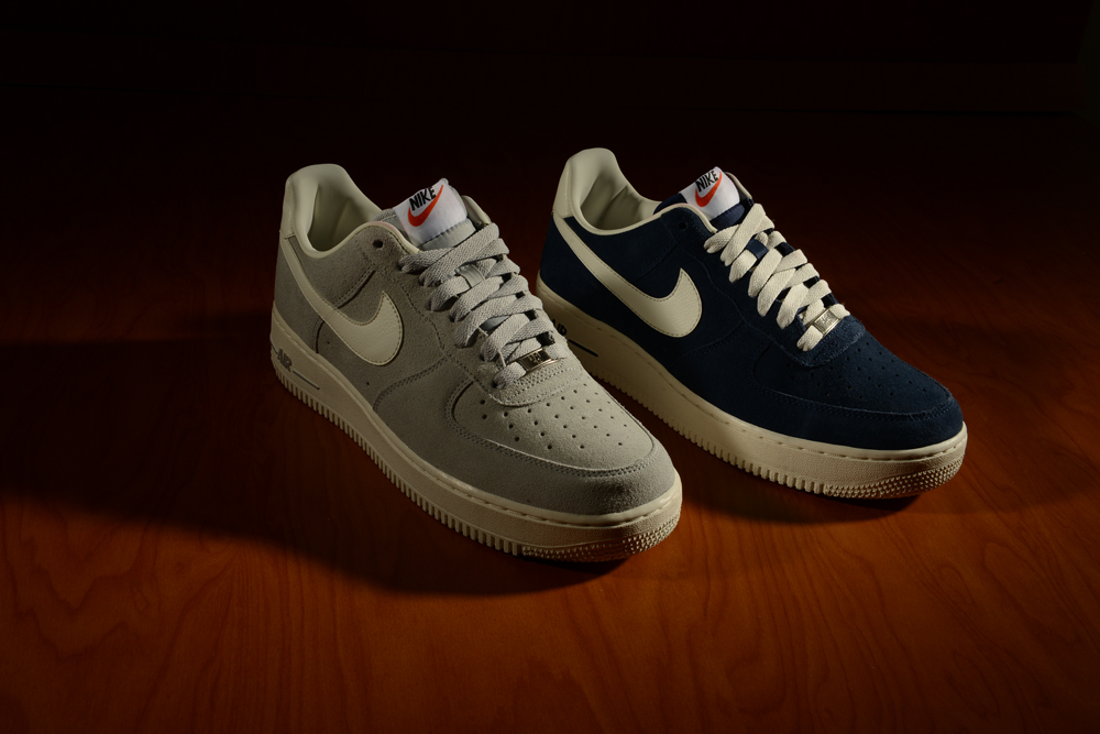 Nike Air Force Low Suede Blue