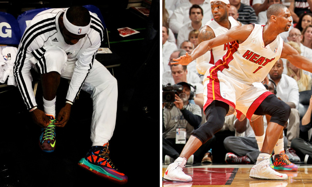 61fbfbd64f8 As the conference semifinals of the NBA Playoffs are well underway, we take  a look back at some of the kicks worn during the exciting first round.