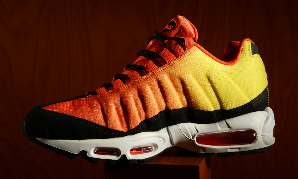 the latest 82d01 66857 nike air max 95 sunset pack