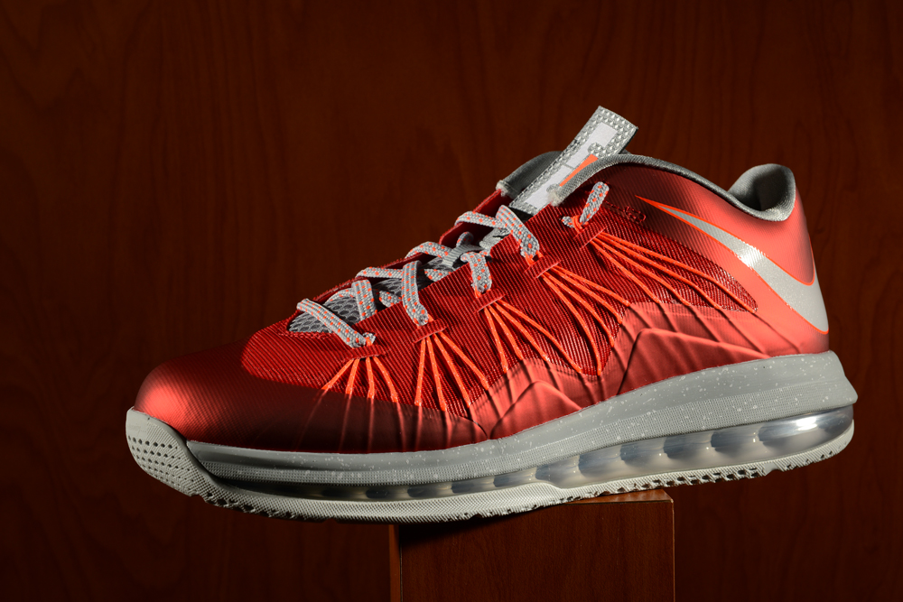 nike air max lebron x low university red