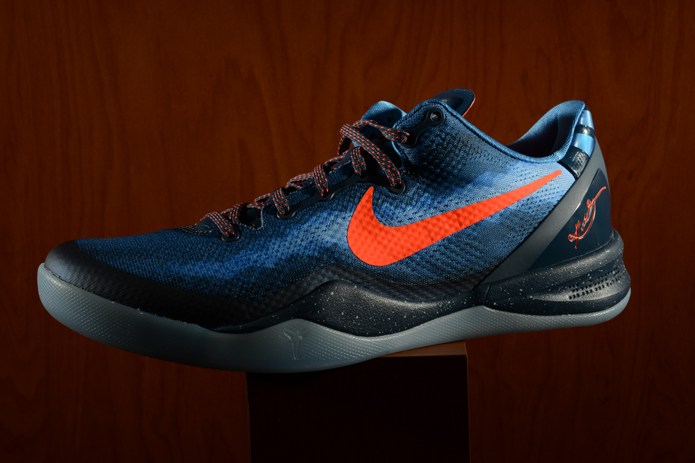 "wholesale dealer 58e73 7cd59 The ""Blitz Blue"" Kobe 8 may just be the official sign of summer basketball.  Its main blitz blue color palette goes up against a fine total crimson, ..."