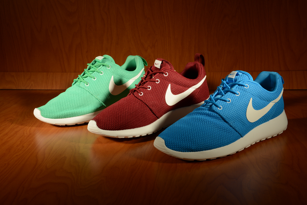new arrival 7190c 71814 Nike Roshe Run (Blue Hero, Gamma Green, Team Red). 8008511A 8008528A  8008530A 8008532A ...