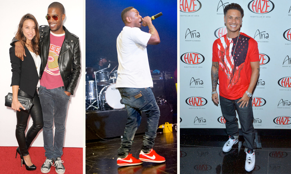 8d35a055a4f There are a handful of celebrities that are always on top of their sneaker  game. Whether it s a constant rotation or having one established sneaker