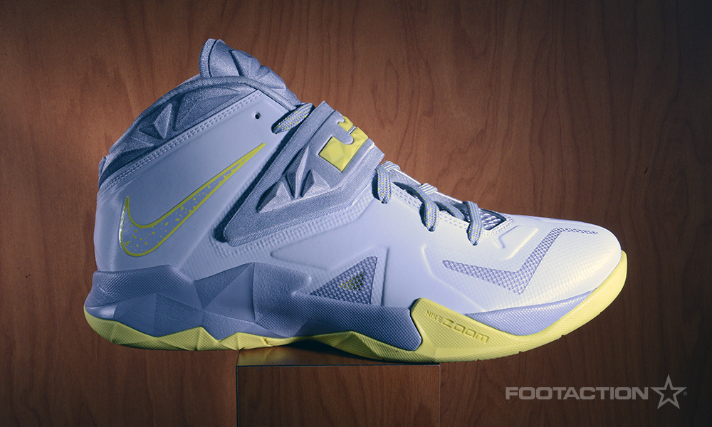 Footaction Nike LeBron Soldier VII Grey Yellow_01
