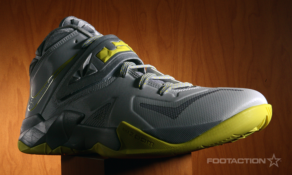 Footaction Nike LeBron Soldier VII Grey Yellow_03