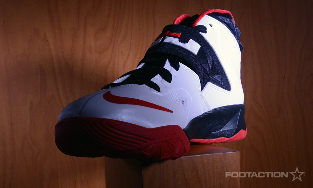 Footaction Nike LeBron Soldier VII White Red Black_03