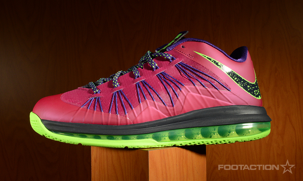 FA Nike Air Max LeBron X Low Raspberry 1