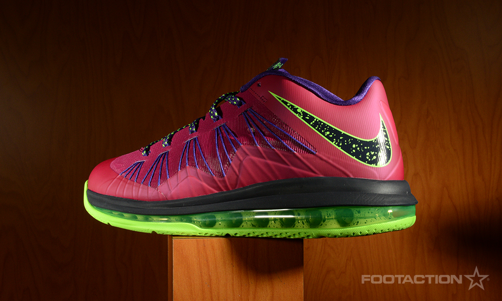 FA Nike Air Max LeBron X Low Raspberry 2