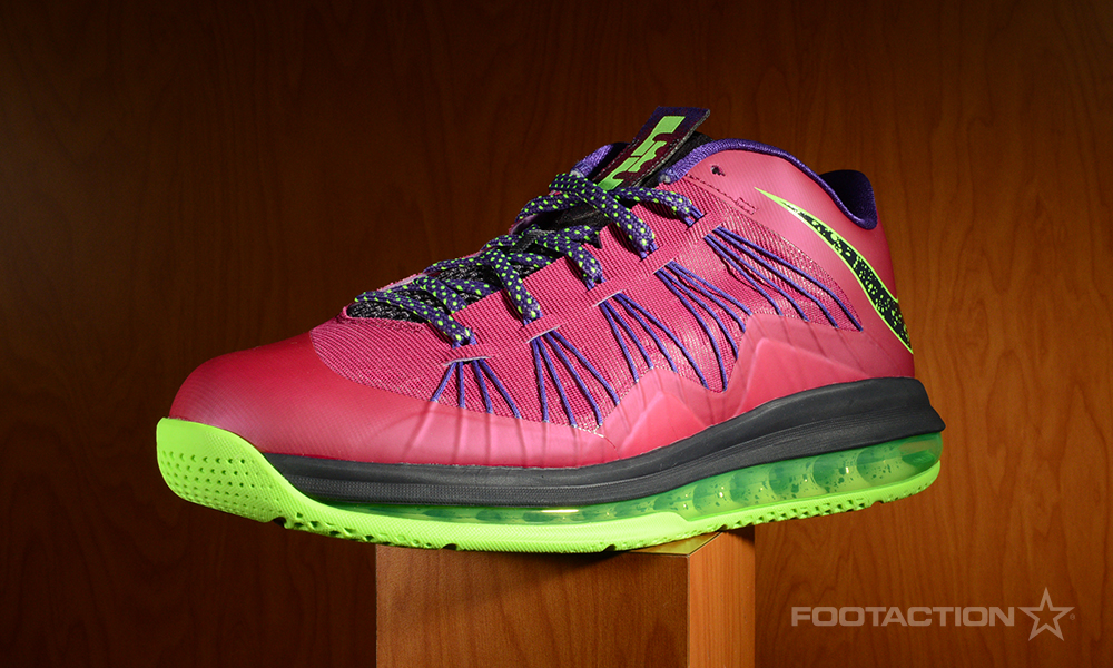 Nike lebron 10 low raspberry