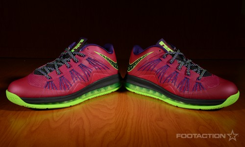 65d314fdcff0 Nike Air Max LeBron X Low Raspberry RedFootaction Star Club