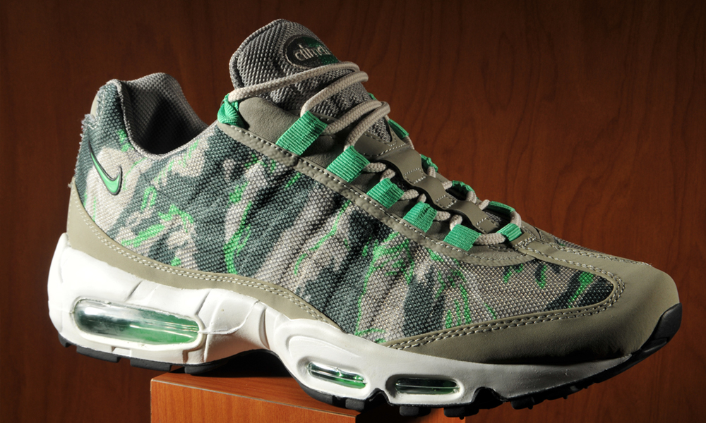 With camo as popular as it's ever been, it's only right it finds it's place on a classic sneaker. The Nike Air Max 95 was already legendary in it's own ...