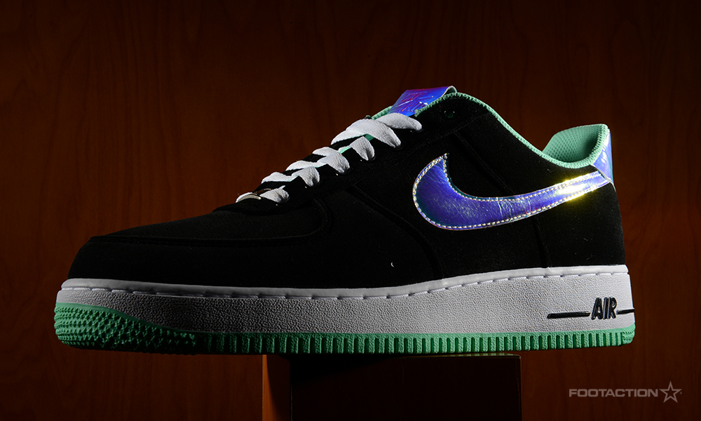 size 40 e9396 49c07 Nike Air Force 1 Low Shiny Silver Green Glow. fa-1129-lowandshiny-1   fa-1129-lowandshiny-2  fa-1129-lowandshiny-3 ...