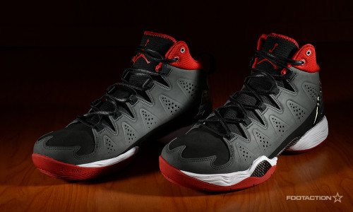 Jordan Melo M10 Anthracite Gym Red Footaction Star ClubFootaction Star Club