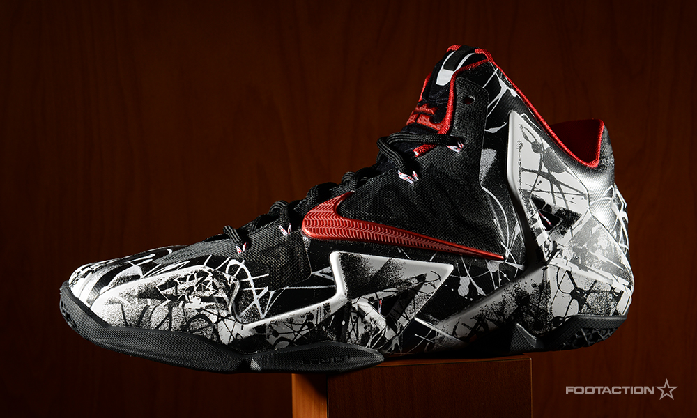 "detailed look 709e3 4994a Nike LeBron 11 ""Graffiti"". fa-lebron11graffiti- ..."