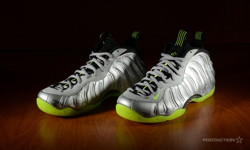 418a16293c6 Nike Air Foamposite One Metallic Silver Volt - Footaction Star  ClubFootaction Star Club