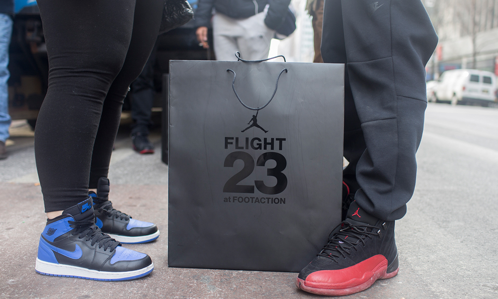 fa9bb6f7ec50b7 ... that will go down in the history books–Jordan Brand and Footaction  teamed up and opened the first Flight 23 at Footaction store in the United  States.