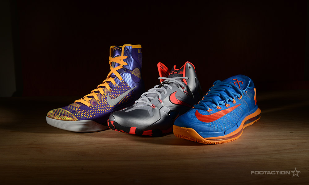 sports shoes 833a3 7dd6d Nike Elite Team Collection (LeBron 11, KD VI, Kobe 9 Elite).  FA-NikeEliteTeamCollection- ...