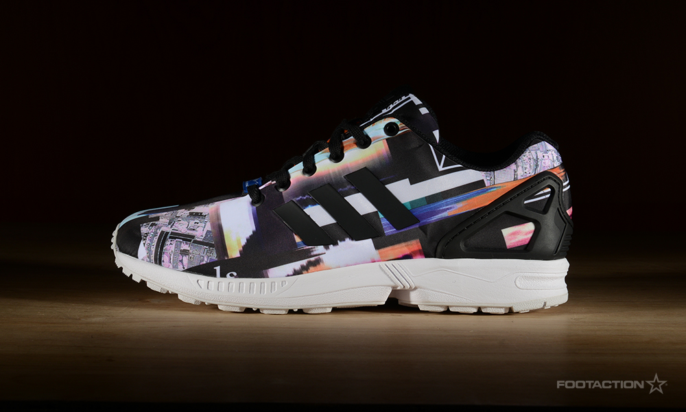 uk availability aad1e f19f1 Adidas Zx Flux Rainbow Prism wallbank-lfc.co.uk