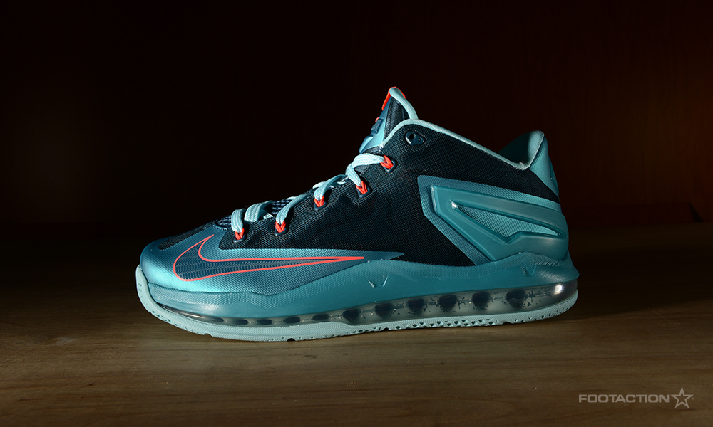 Lebron 11 low turbo green