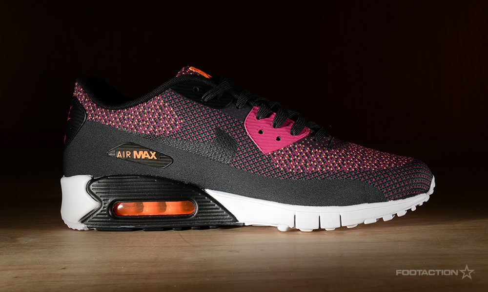 a8085bfa25 ... Club; Nike Air Max 90 Jacquard (Bright Magenta/Black/Total Orange)Footaction  Star ...