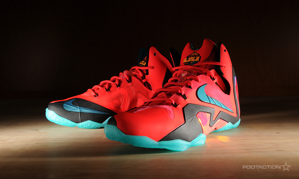 Lebron 11 Elite Hero On Feet