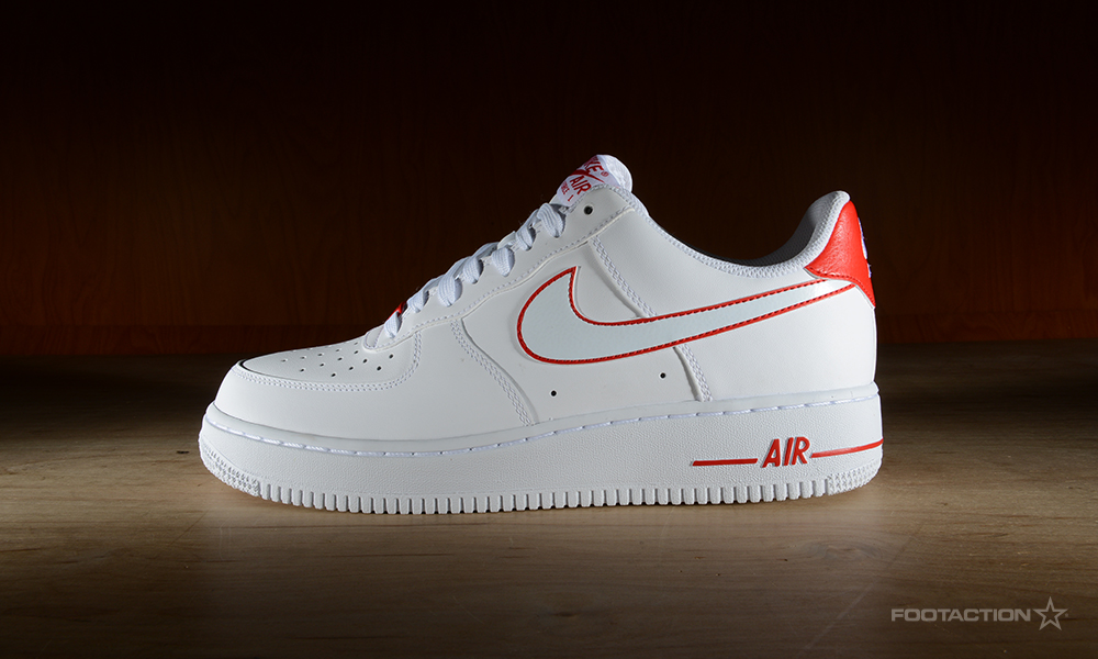 Nike Air Force 1 Star Low White/RedFootaction Star 1 Club dabb0f