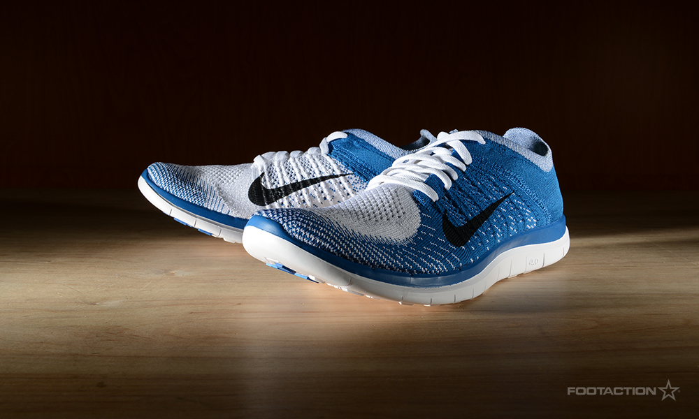 Nike Flyknit 4.0 White And Blue