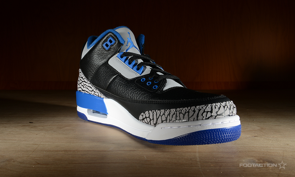 a4de142689cec6 Air Jordan 3 Retro  Sport Blue Footaction Star Club