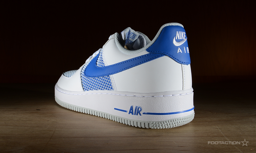 aae6dcc4cb Nike Air Force 1 Low White Hyper CobaltFootaction Star Club