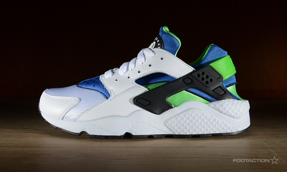 Air Huarache Green And White