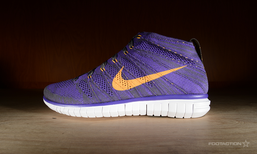 Nike Free Flyknit Chukka Game Royal / Photo Blue / Hyper Pink