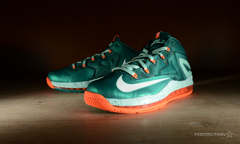 89752d674a8 Nike LeBron 11 Low  Mystic Green Footaction Star Club