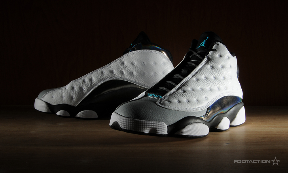 air jordan retro 13 black grey
