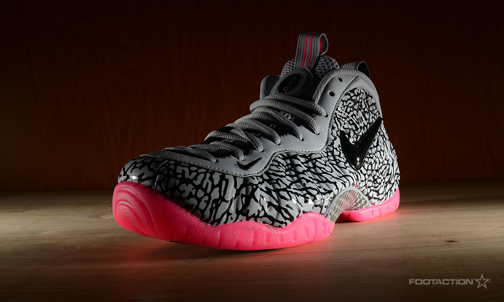34003fe840d Nike Air Foamposite Pro Premium  Elephant Print Footaction Star Club