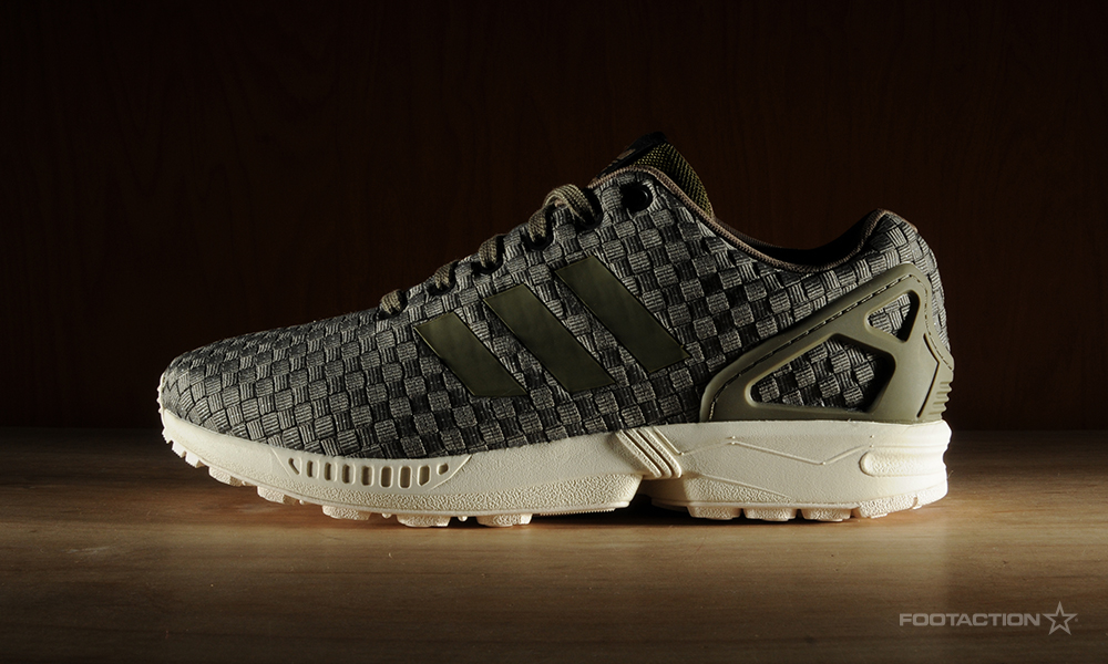 Adidas Zx Flux All Black Reflective