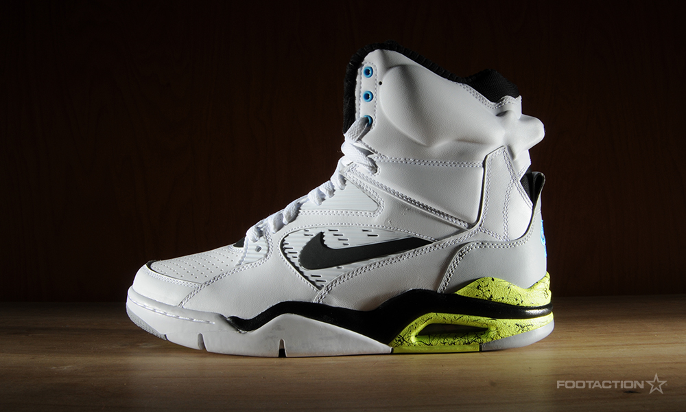 Nike Air Command Force WhiteBlackWolf GreyVoltFootaction
