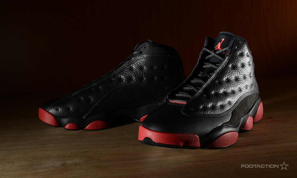 2eaf9a2f692193 Air Jordan 13 Retro  Black Gym Red Footaction Star Club