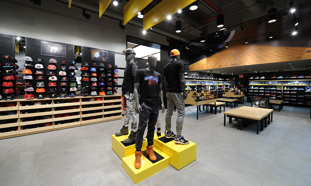 Footaction Flagship 3