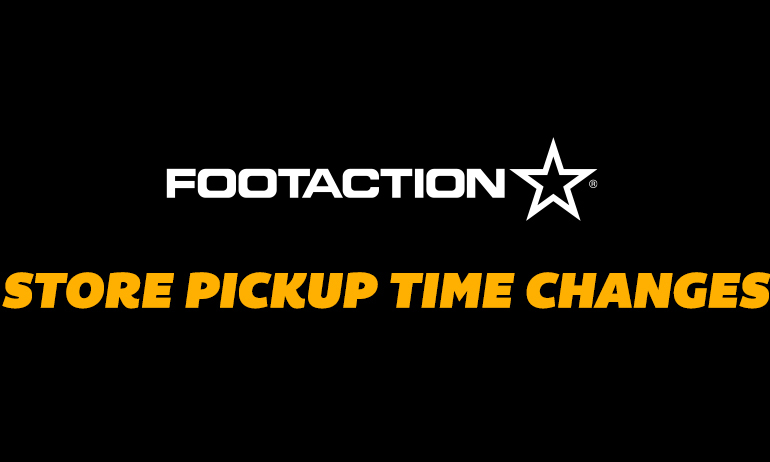 Footaction New Launch Procedure