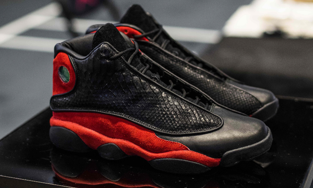 "finest selection 0652e 0bdbe To celebrate the return of the ""Bred"" Air Jordan 13 Retro OG s we partnered  with Jordan Brand to give you the chance to win a limited edition customized  ..."