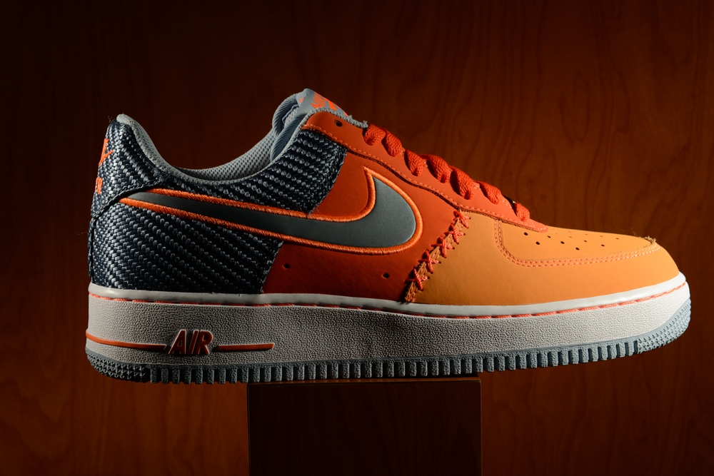 Slate 1 Air Footaction Low Team Nike Force Armory Orange