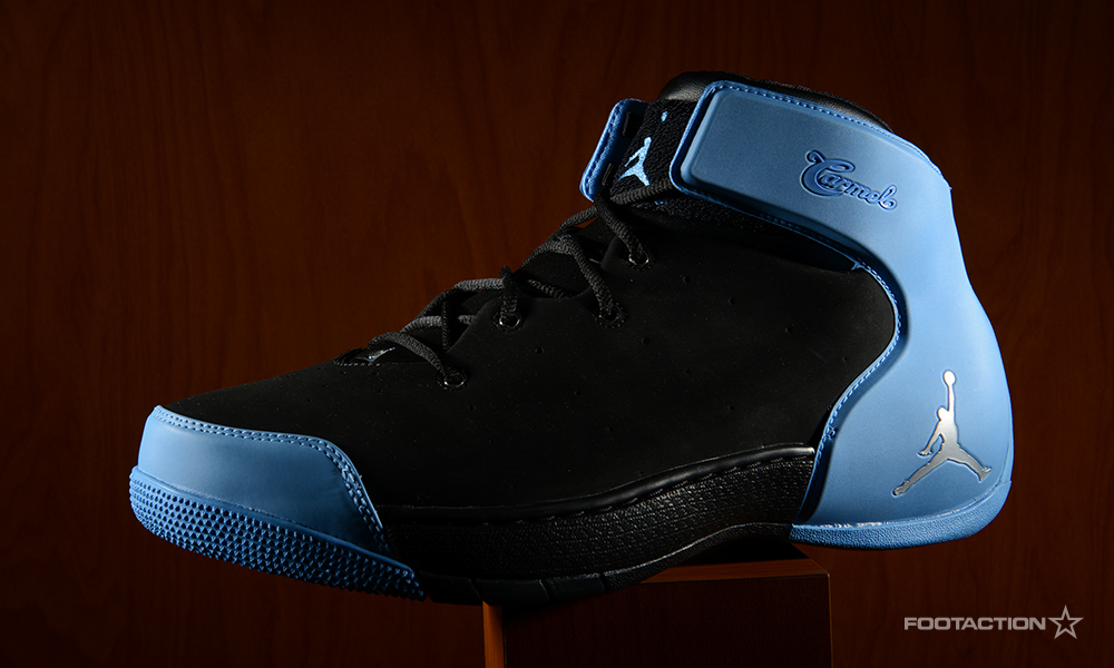 size 40 becd6 1f58d Jordan Melo 1.5 Black/University BlueFootaction Star Club