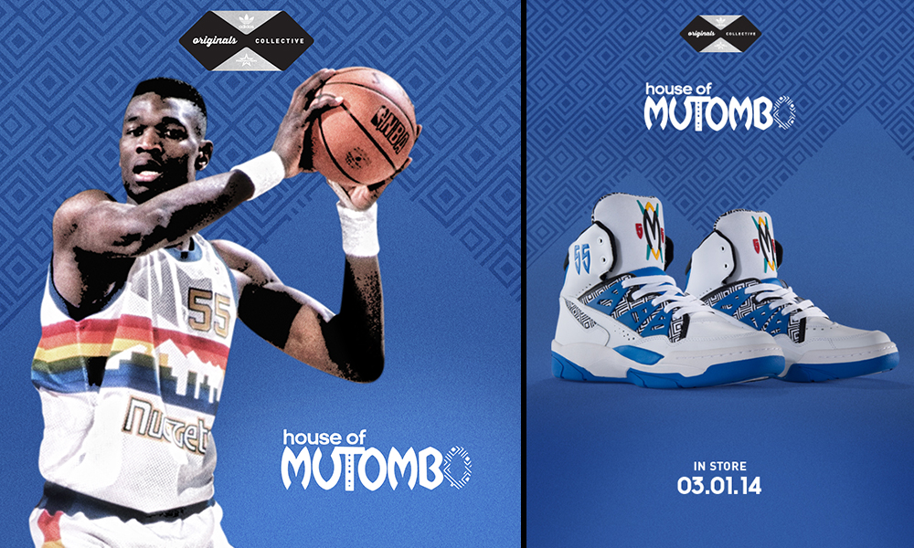 Molestia Guinness Unirse  adidas Mutombo Blue/WhiteFootaction Star Club